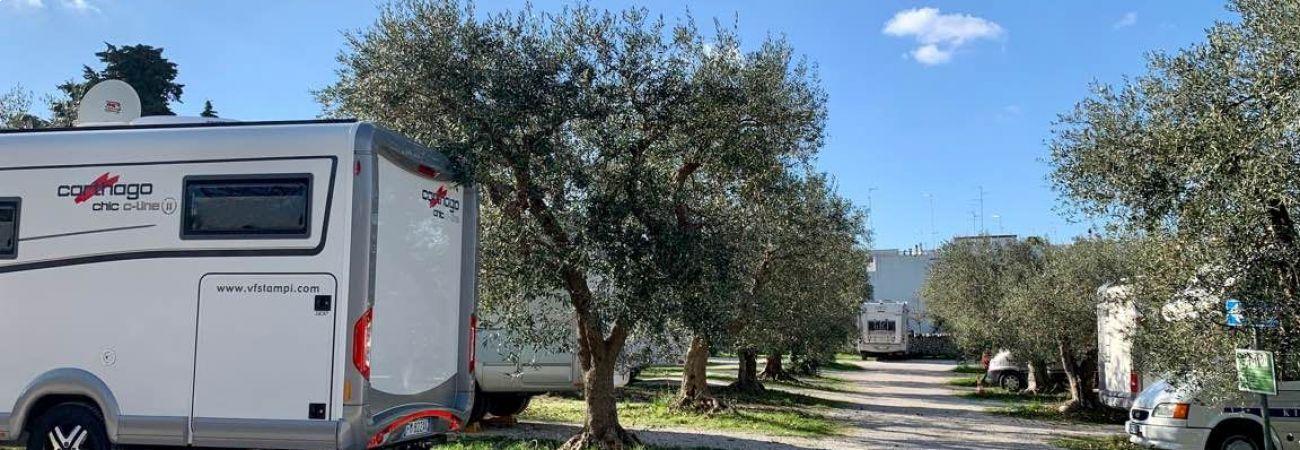 Area Sosta nel Verde - Alberobello