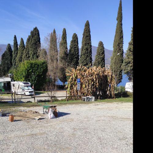 Area camper Paradiso - Salò