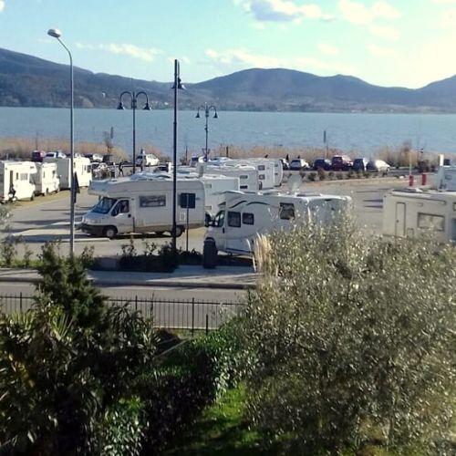 area camper lago Trasimeno