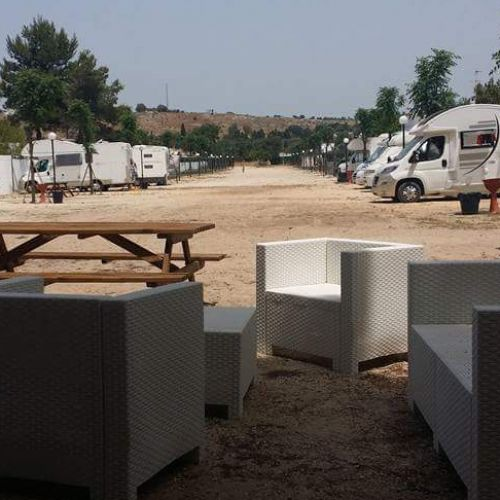 aree camper salento