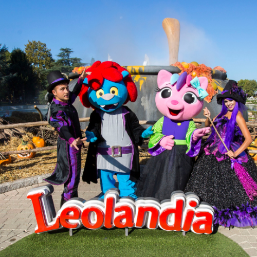 Leolandia Hallowen in camper